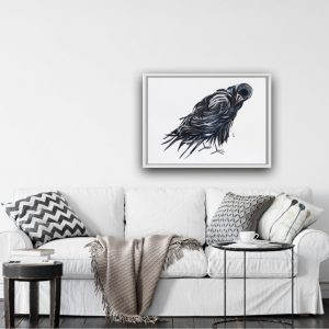 Rook collage – for sale at The London Shard