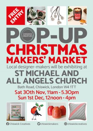 Chiswick Creatives Christmas Makers' Market