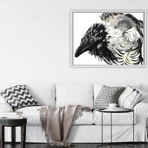 Crow collage – Ashburn Gallery
